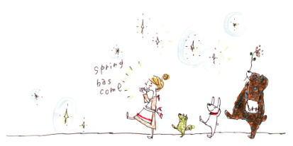 さあ〜春ですよ〜 う〜ん なんだかとっても楽しい!Sprjng!!
