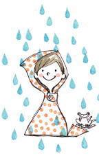 雨の日は大好き だってラバーブーツが履けるもの!!