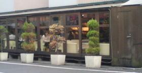 代官山の「おさんぽかふぇ」でみつけた 裏道のカフェです…!