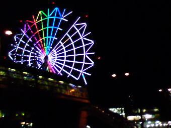 お台場の観覧車…夜景がきれいです!!