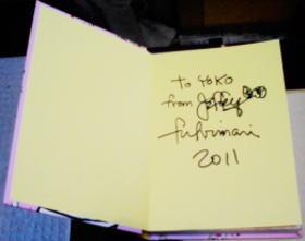 2011 サインを頂けました〜!!