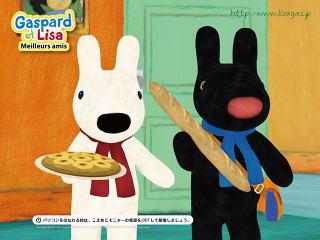 リサとガスパールは食欲の秋で食べまくります〜劇場アニメから☆*。