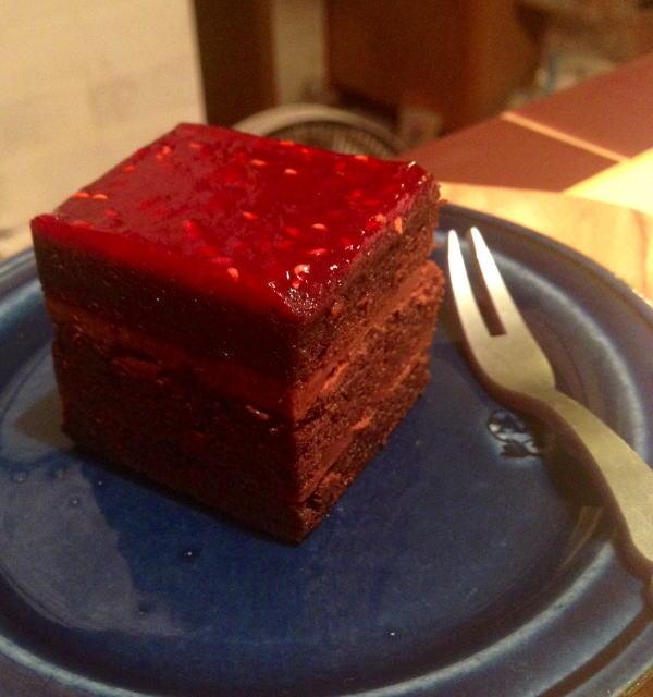 美味しそう〜!!フランボワースという食材自体が一層美味しさを増幅させます。