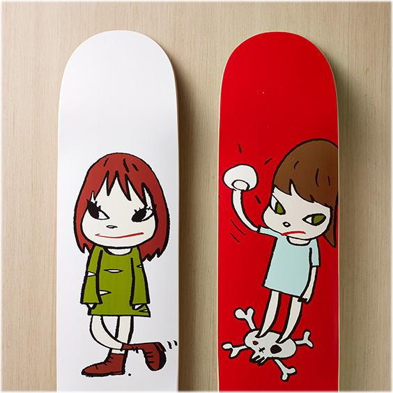 奈良美智:スケートボード