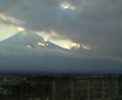 8.お、富士山が!