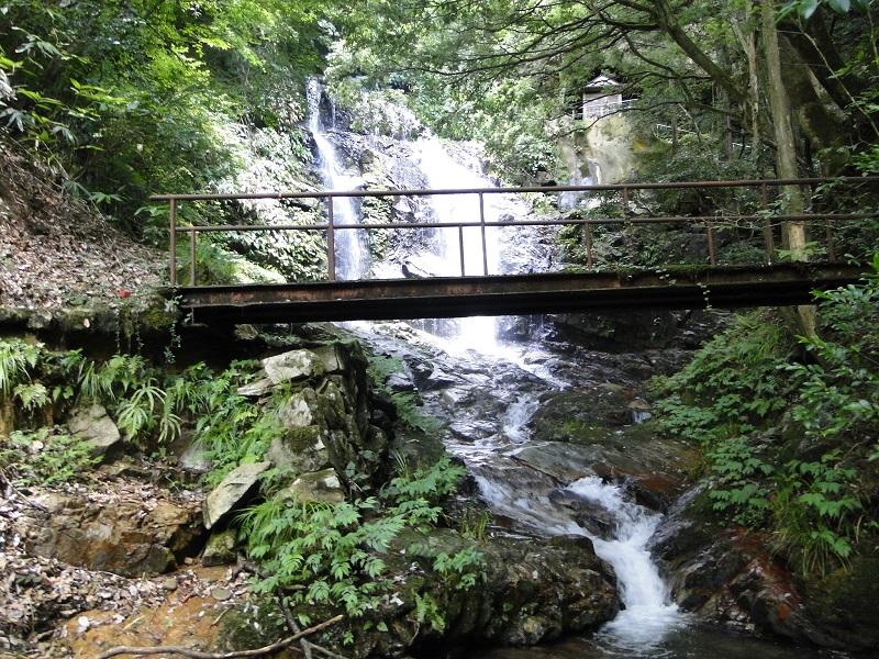邑南町 青笹観音滝 Aozasa kannon waterfall