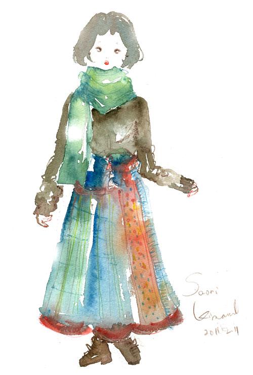 KINA スタイル画