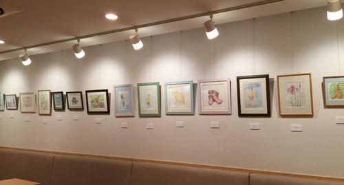 KINA 水彩教室 生徒さん作品展2015