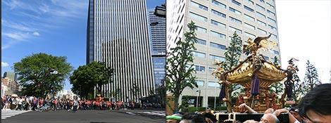 神田祭り2013 御神輿の様子
