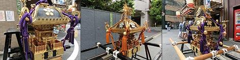 湯島町内会の御神輿