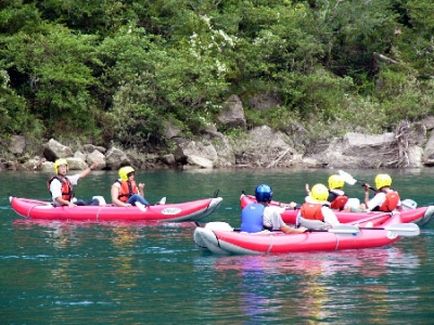 世界遺産 川の熊野古道 熊野川 カヌーツアー
