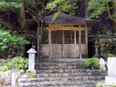 世界遺産 熊野古道 大雲取越 地蔵茶屋