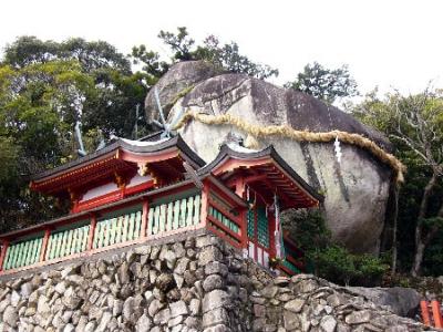 熊野古道ツアー 神倉山 ゴトビキ岩