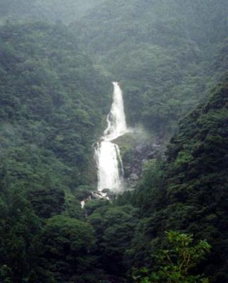 シャワークライミング 鼻白の滝