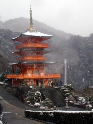 熊野古道ツアー 那智の滝 那智山
