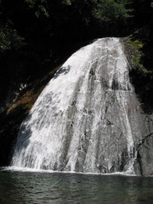シャワークライミング 内鹿野谷 出会の滝