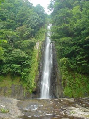シャワークライミング 滝本本谷 宝龍滝