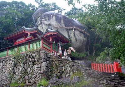 熊野古道ツアー 神倉神社 ゴトビキ岩