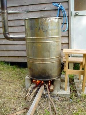 エコキャンプ熊野 ドラム缶風呂