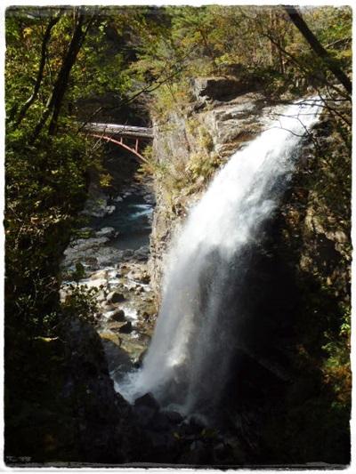 龍王峡虹見の滝