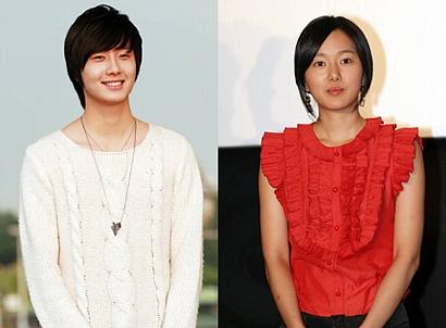 韓国ドラマ『一枝梅』に主演する チョン・イルとユン・ジンソ
