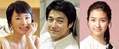 韓国ドラマ「結婚できない男」のオム・ジョンハ、チ・ジニ、キム・ソウン