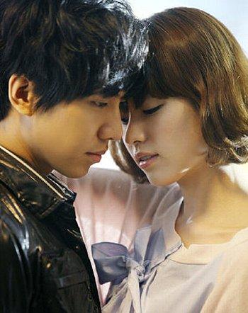 韓国ドラマ・燦爛たる遺産のイ・スンギとハン・ヒョジュ