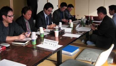 南越前町での福井県青連理事会の様子