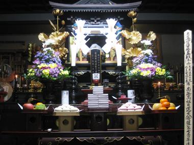 日蓮宗長応寺お会式の開催
