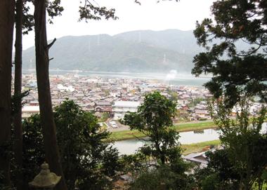 長応寺山頂からの眺め