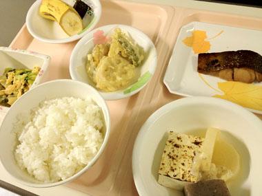 入院最後の夕食