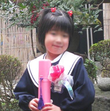 次女の卒園式