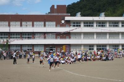 本郷小学校の運動会