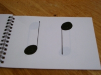 音符カード 1