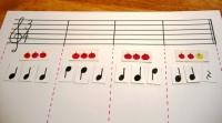 音符カード 3