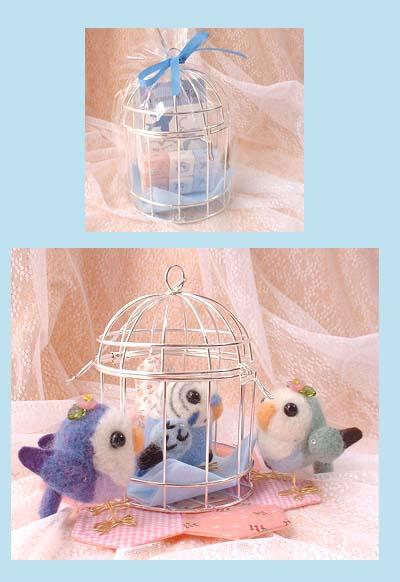 青い鳥お茶セット