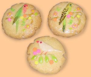 小鳥クッキー2