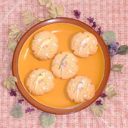 小鳥クッキーイメージ