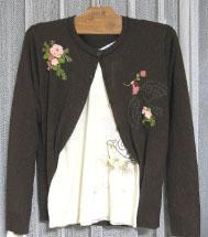 小鳥セーター