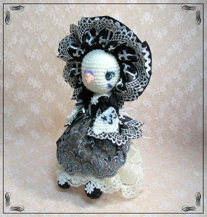 セキセイインコのポーズ人形
