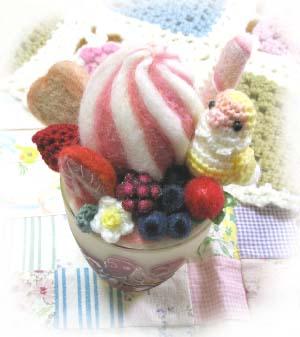 小桜羊毛パフェ