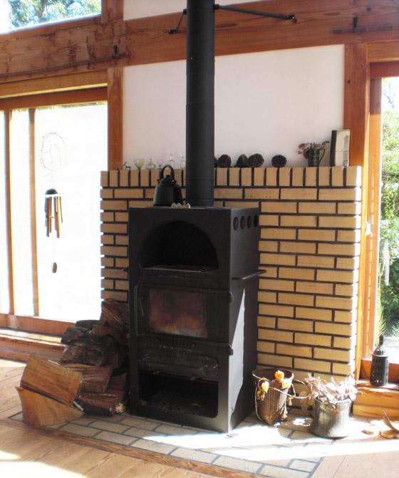 遊茶庵 暖炉の部屋2