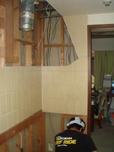 オーダー家具 壁面収納