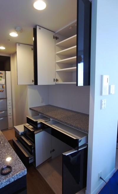 オーダー食器棚 s047-1