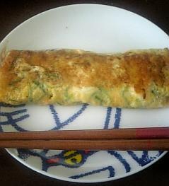 ネギチーズ卵焼き
