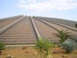 ピラミッドをイメージして造られたオスカーニーマイヤ設計の劇場 inブラジリア。