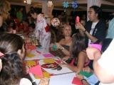 夏祭りで折り紙体験 inリオ
