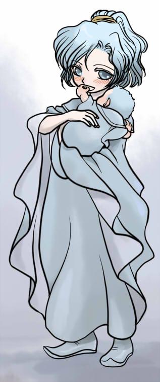 サラとジャキ(幼)