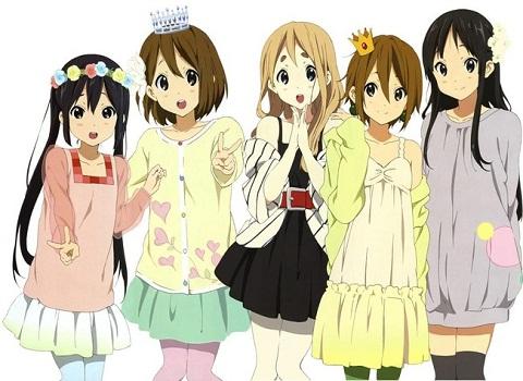 アニメーション神戸に『けいおん!』『ゆるゆり』/これを見てもアニメキャラは日本人って言い切れるかい?