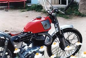 Bultaco Sherpa 1965 Sammy Miller<br /> ブルタコ シェルパ(スペイン)